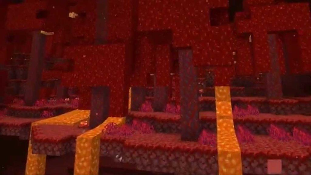 minecraft nether update biome netherwart forest 1