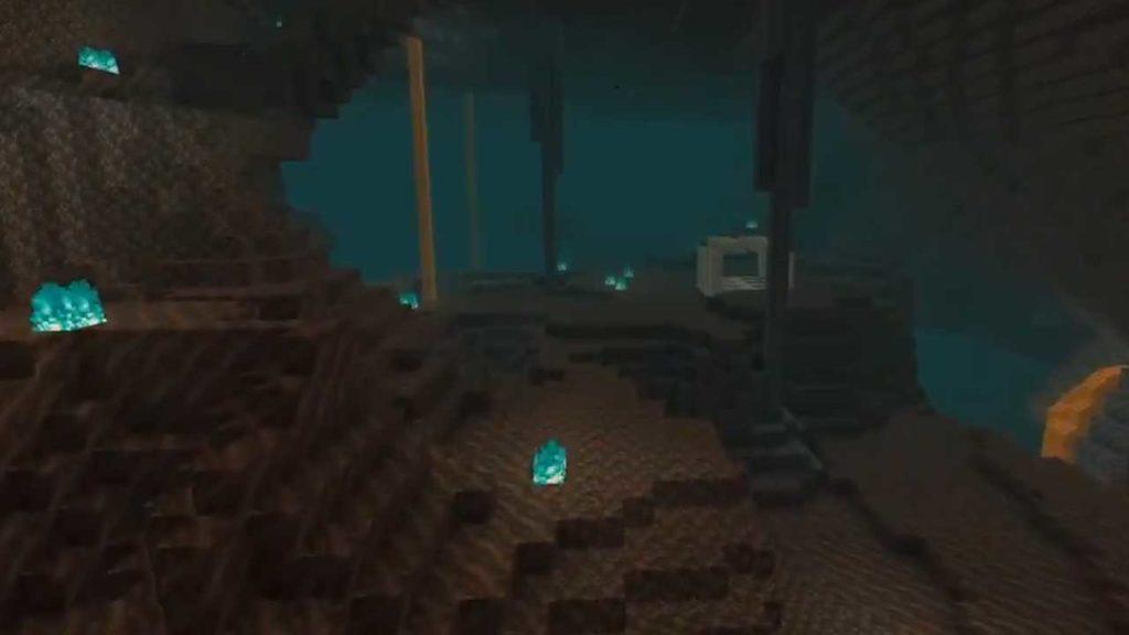 minecraft nether update biome soulsand valley