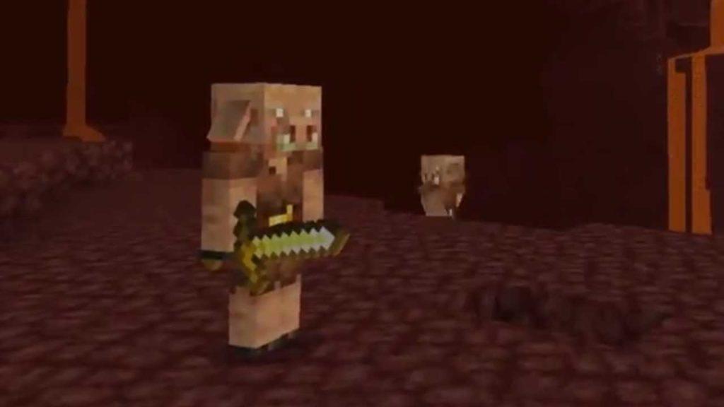 minecraft nether update piglin