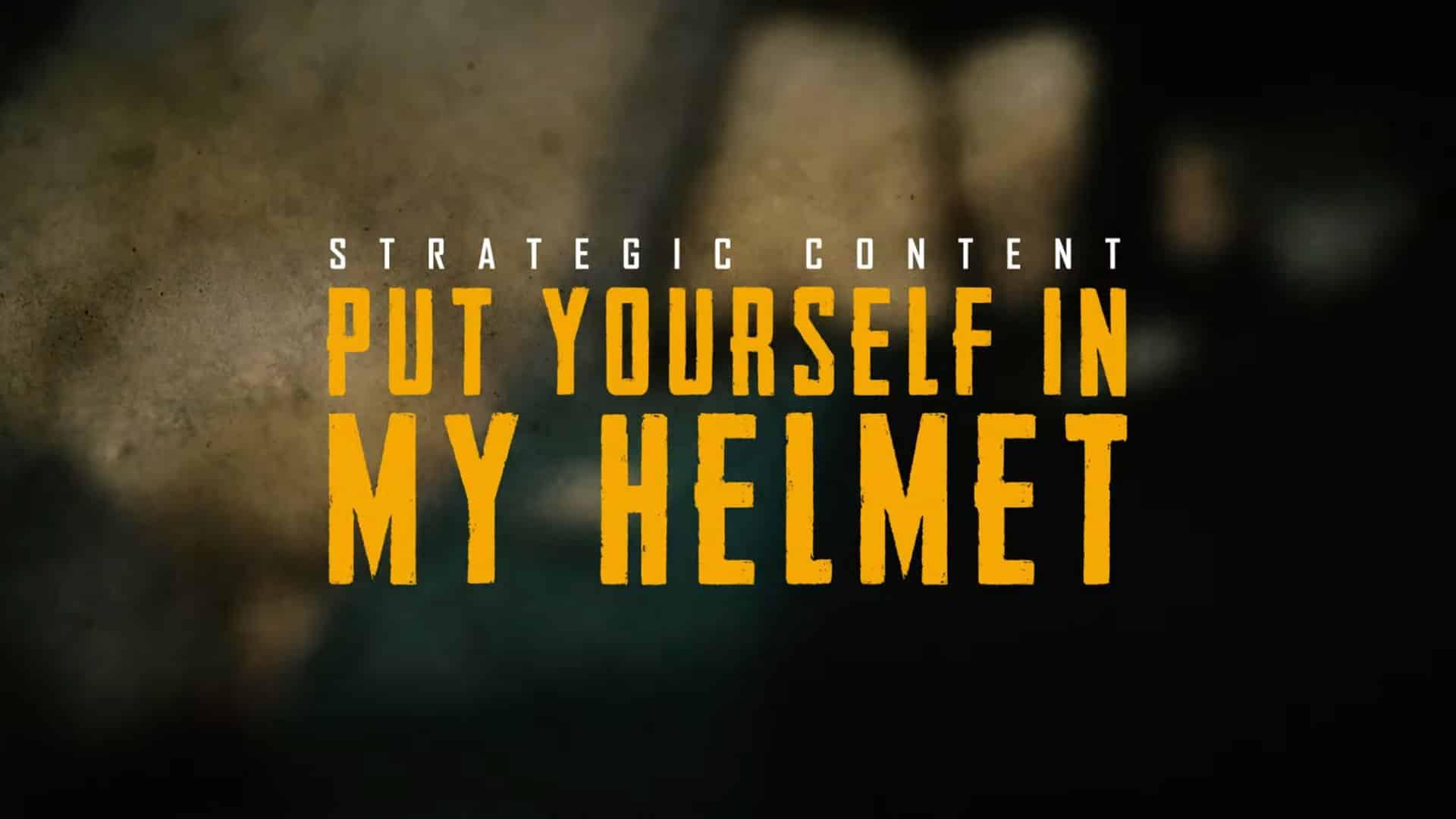 put yourself in my helmet screen yt bab
