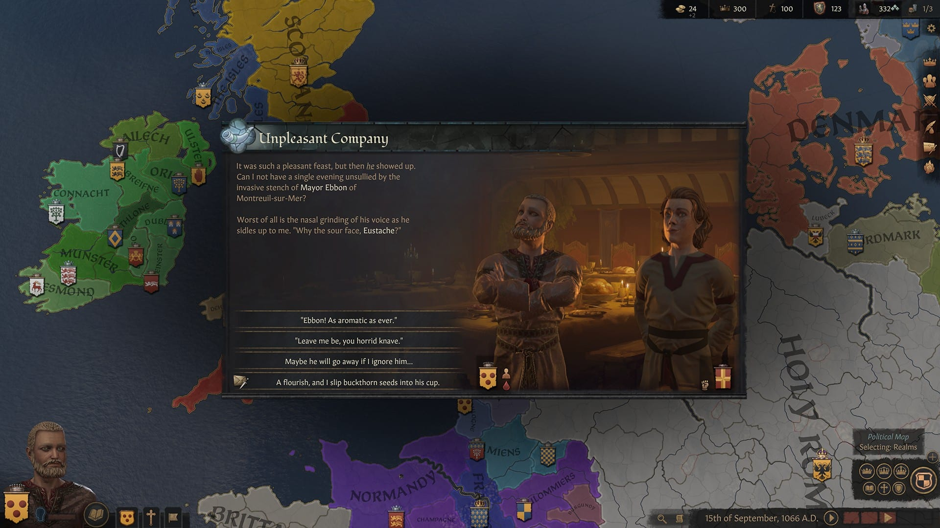 Crusader Kings III Screen 03