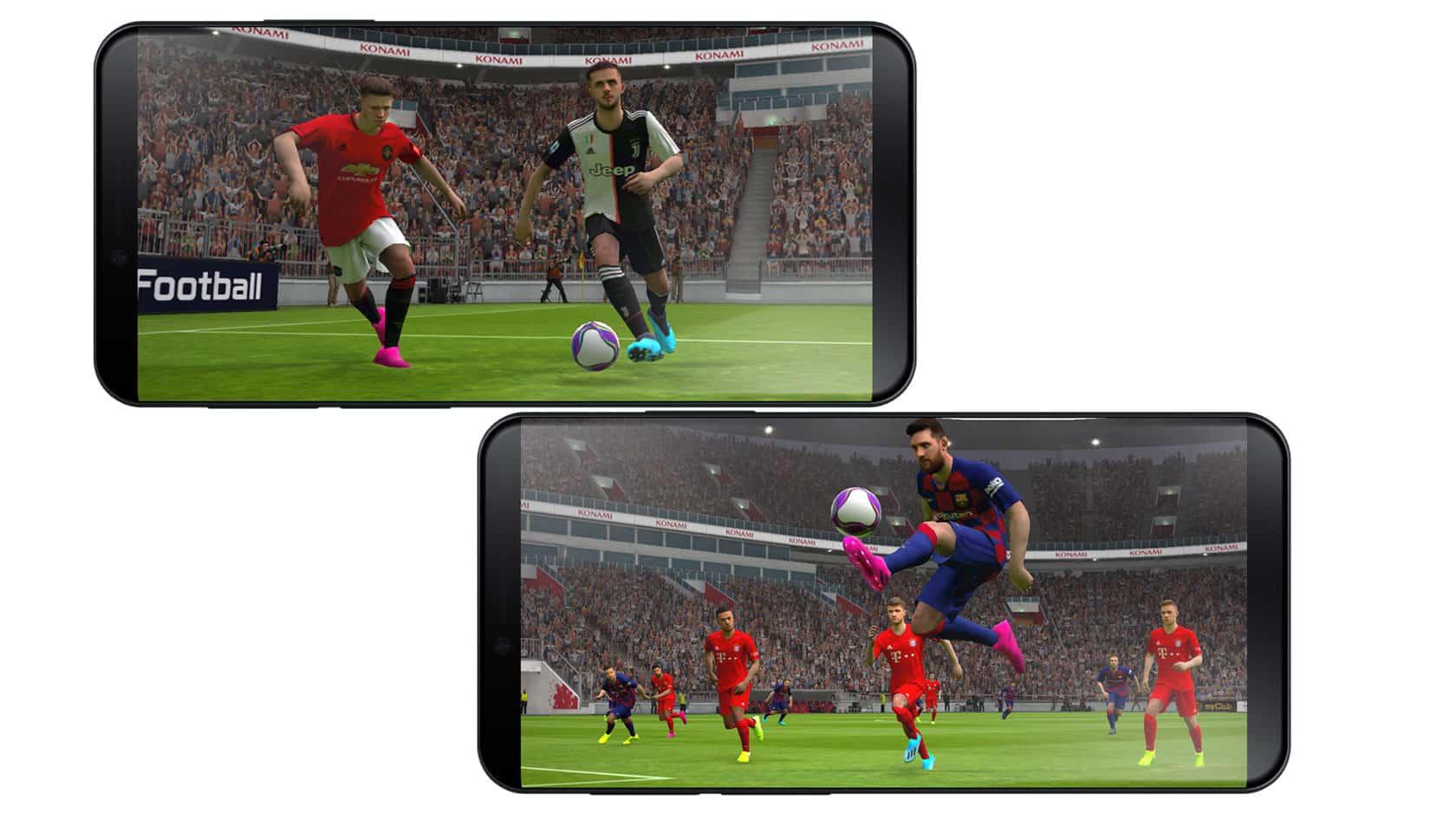 PES 2020 mobile header