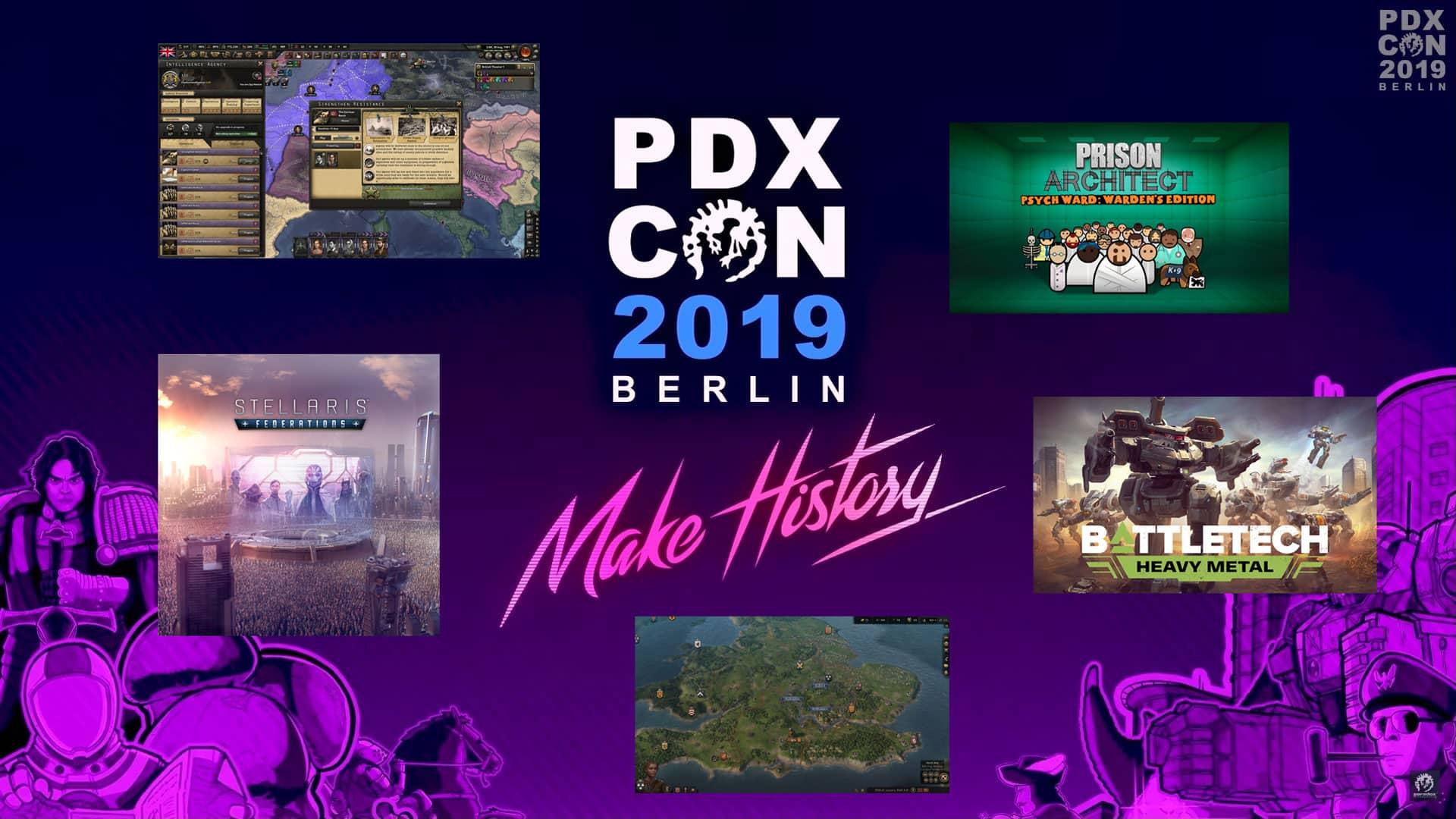 Pdxcon 2019 ankündigungen