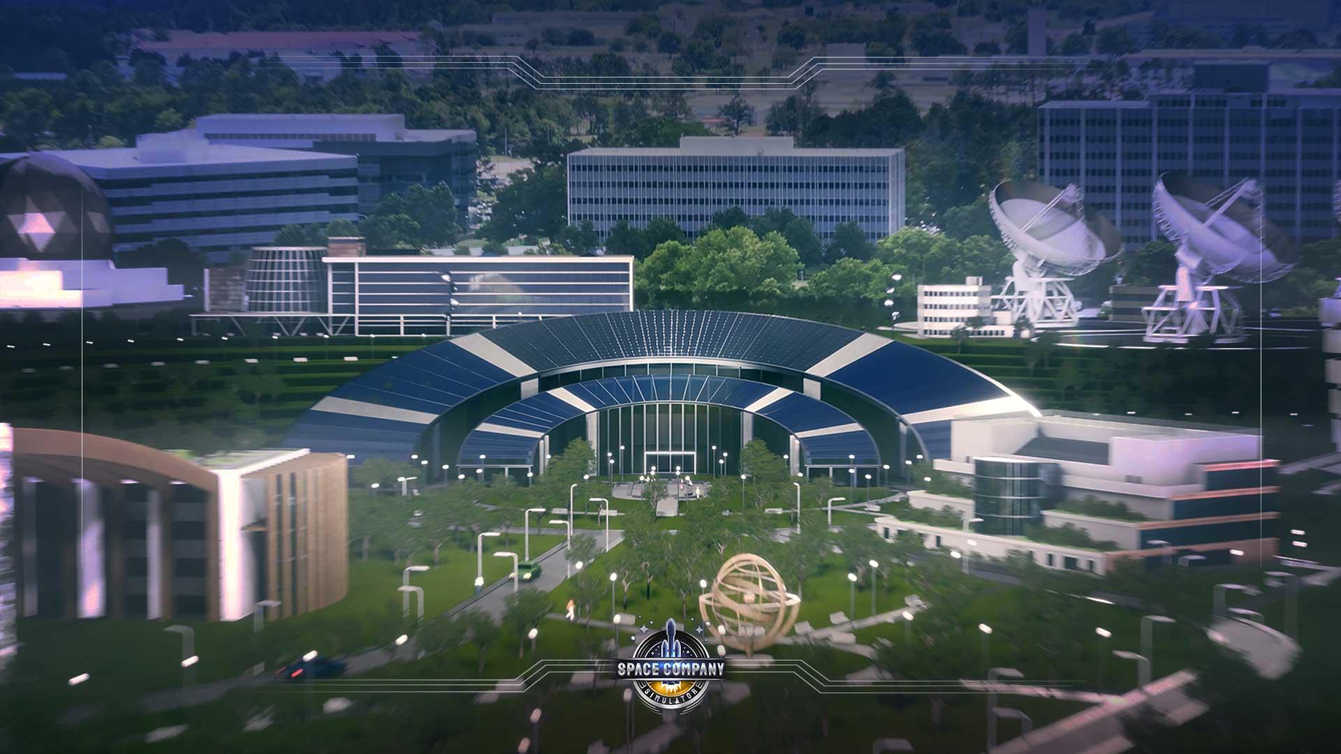 Space Company Simulator Screenshot CGI 1 babt