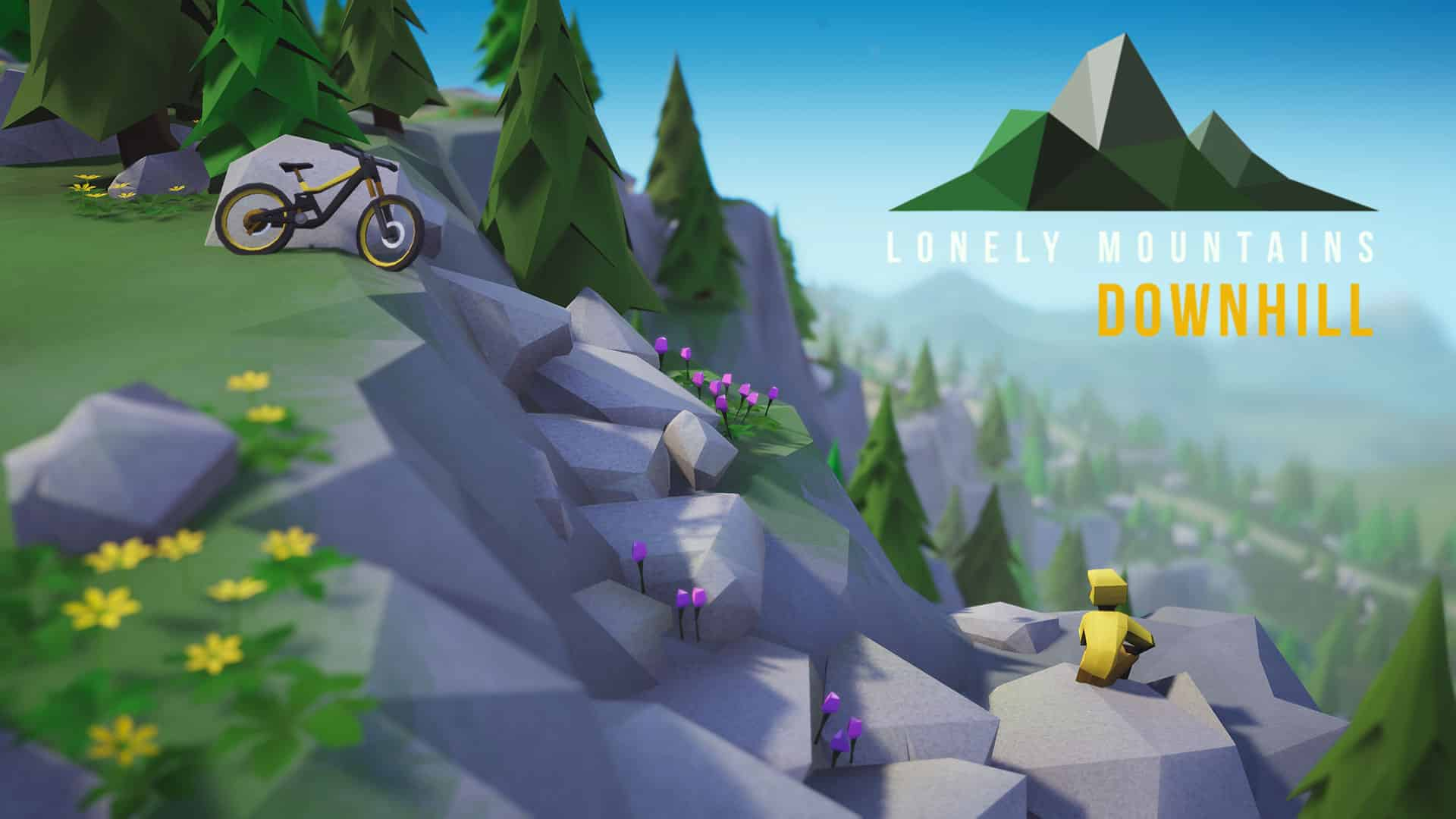 lonely mountains downhill angespielt