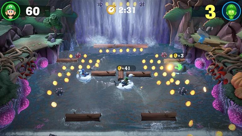NSwitch LuigisMansion3 DLC Screampark Scr