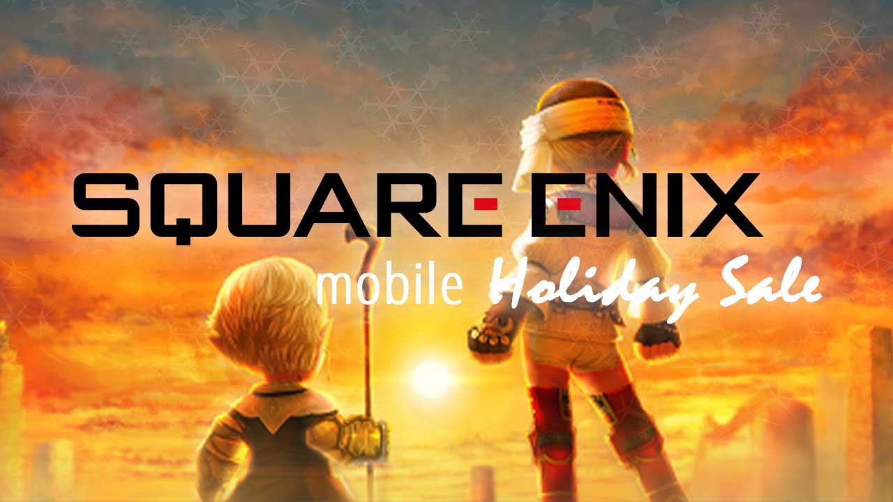 square enix final fantasy holiday sale 2019