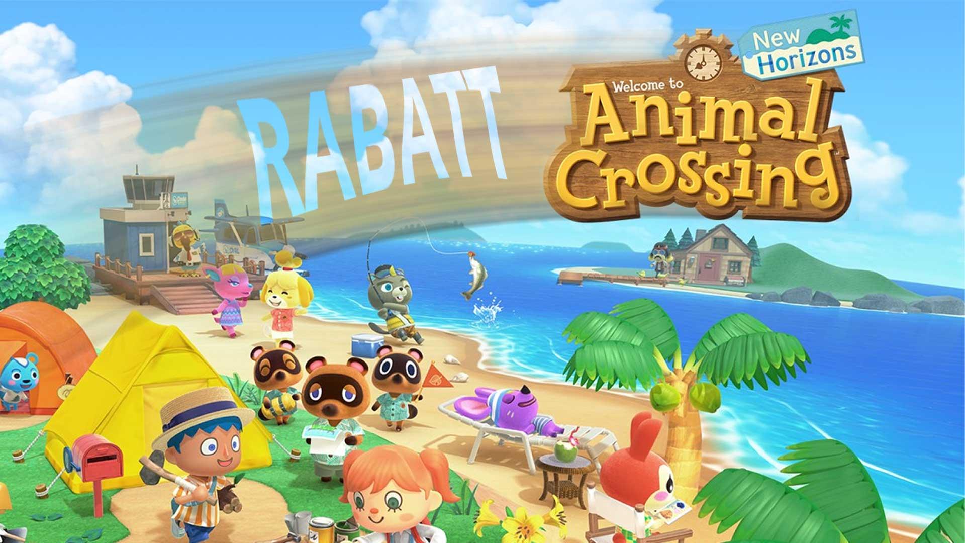 animal crossing rabatt