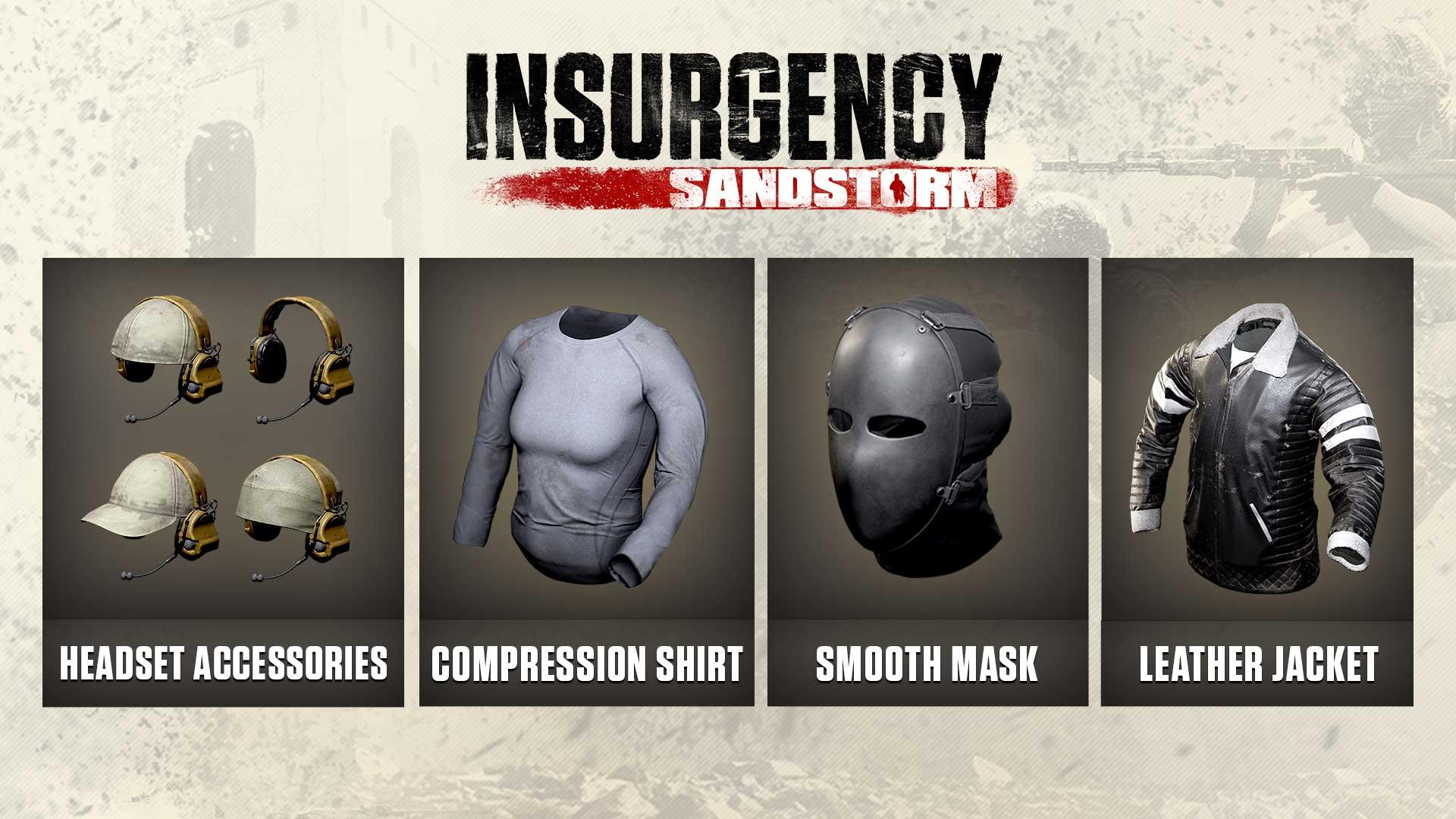 insurgency sandstorm version 1 6 cosmetics