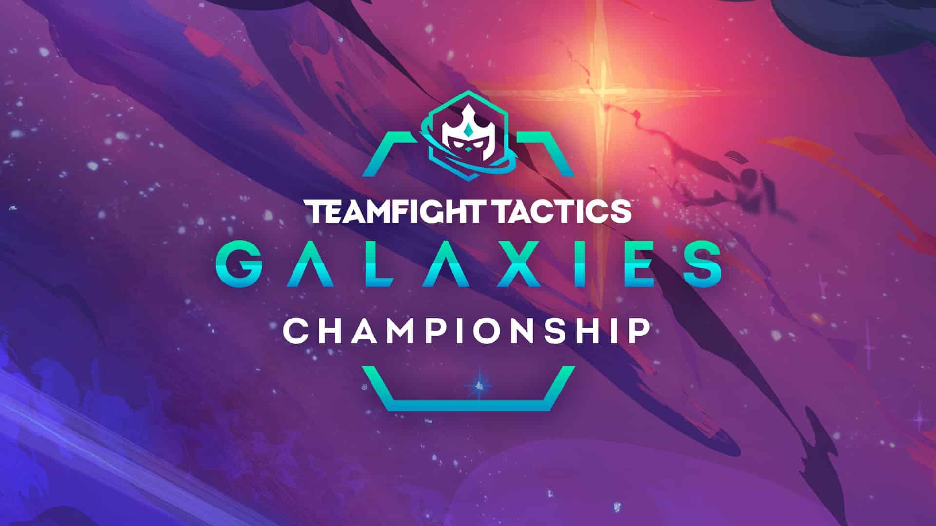 TFT Galaxies Championship Announcement Banner