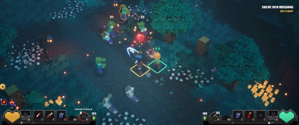 minecraft dungeons angespielt screen