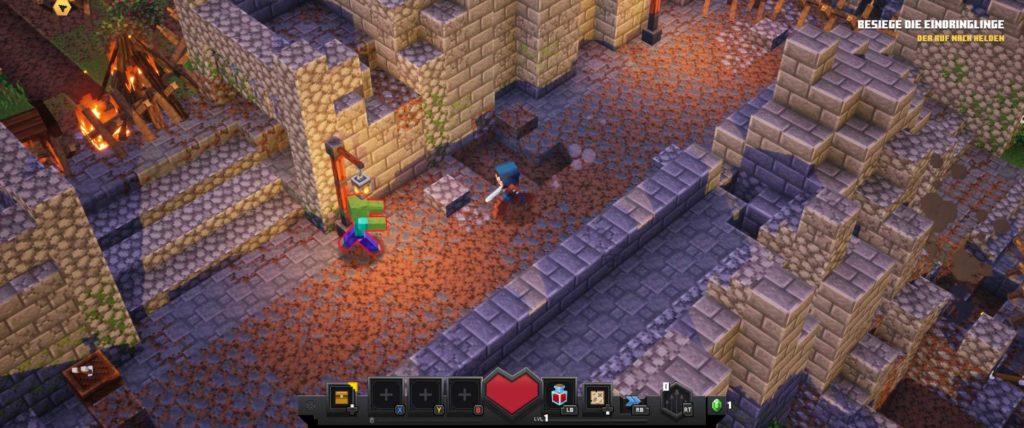minecraft dungeons angespielt screen gameplay