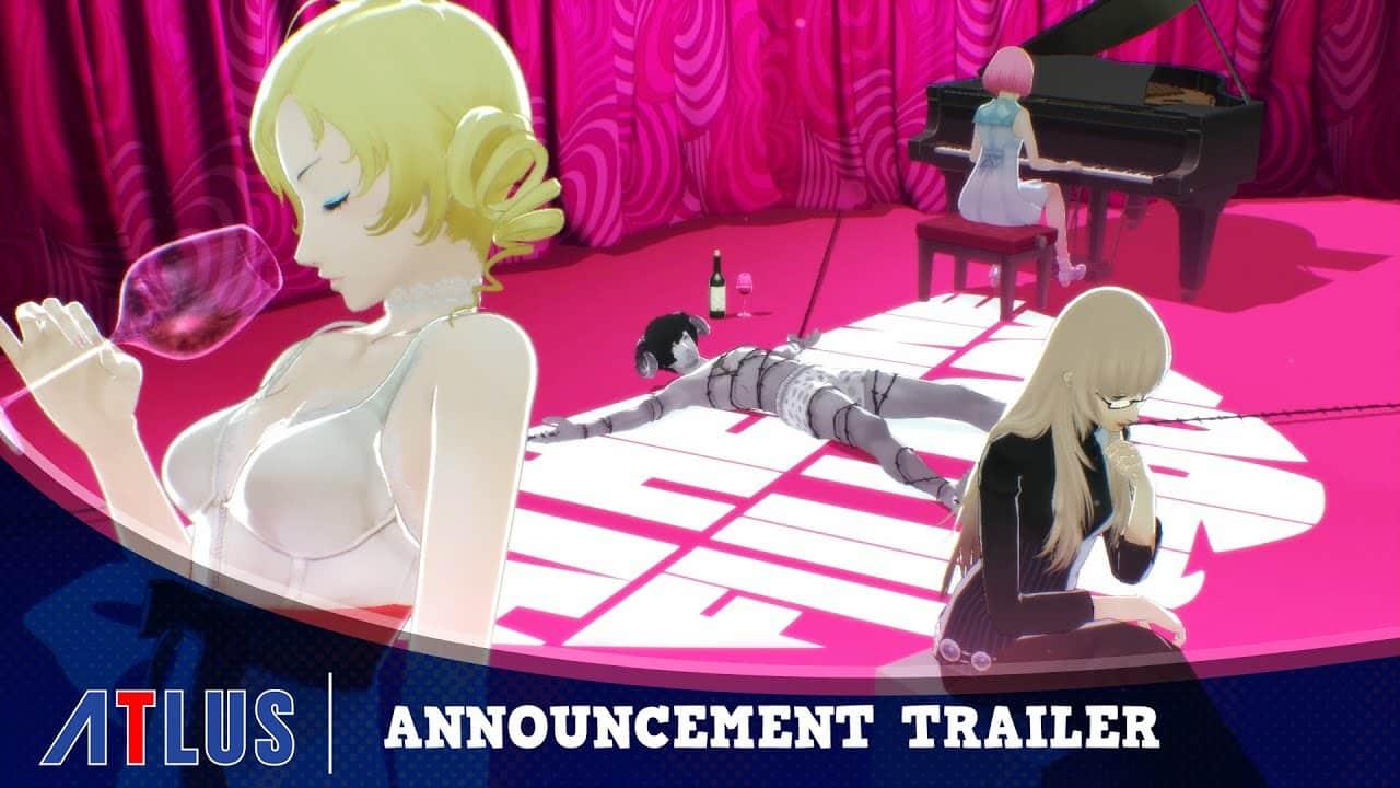 Catherine Full Body Announcement Trailer Nintendo Switch