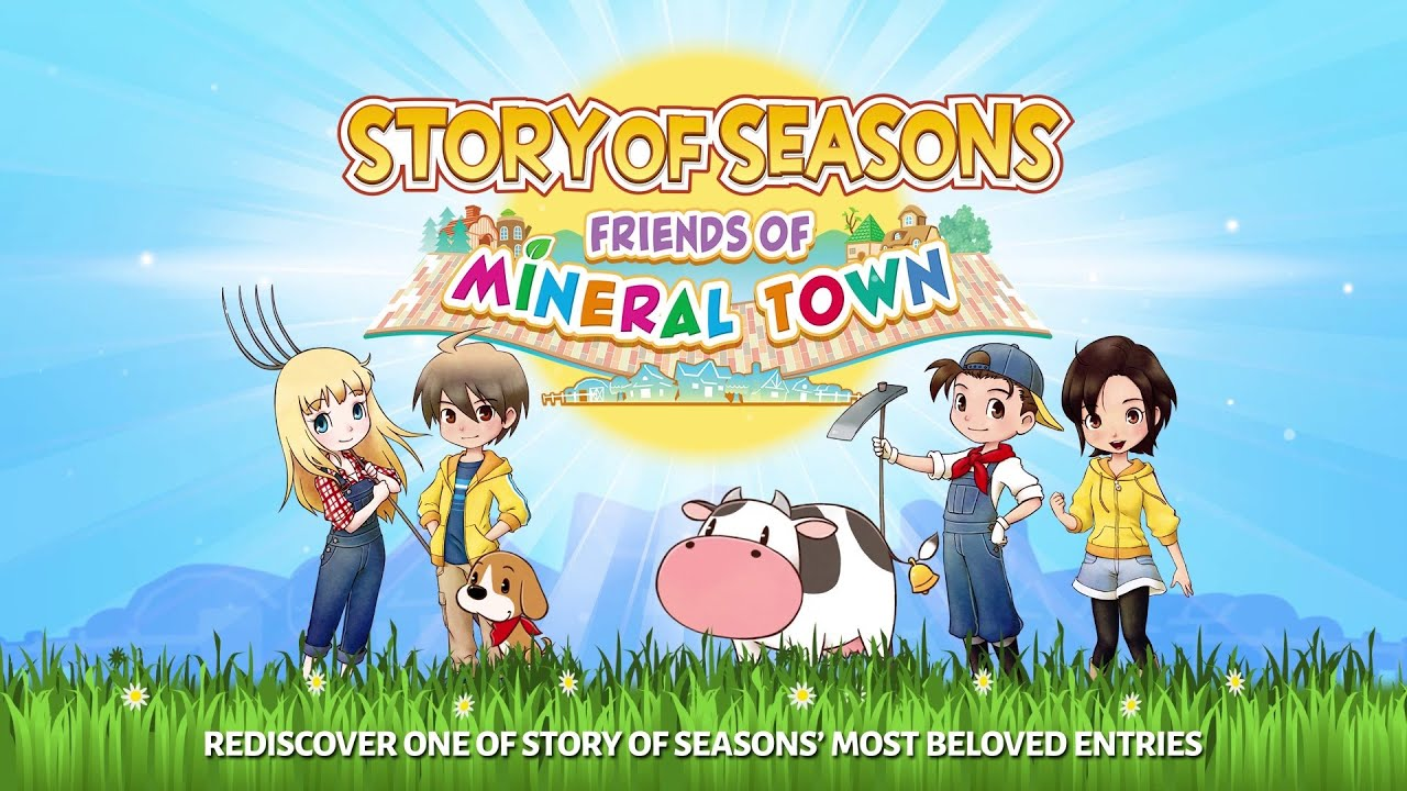 STORY OF SEASONS Friends of Mineral Town Release Date Announcement NINTENDO SWITCH