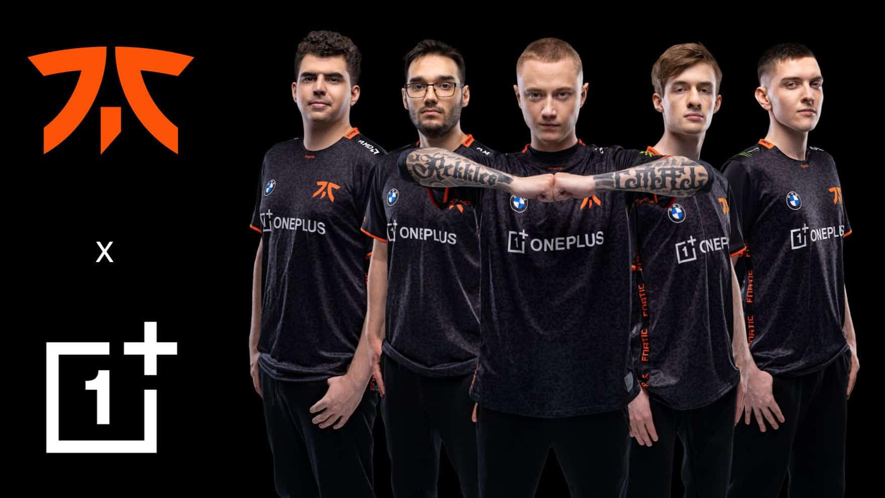 Fnatic Team Photo babt