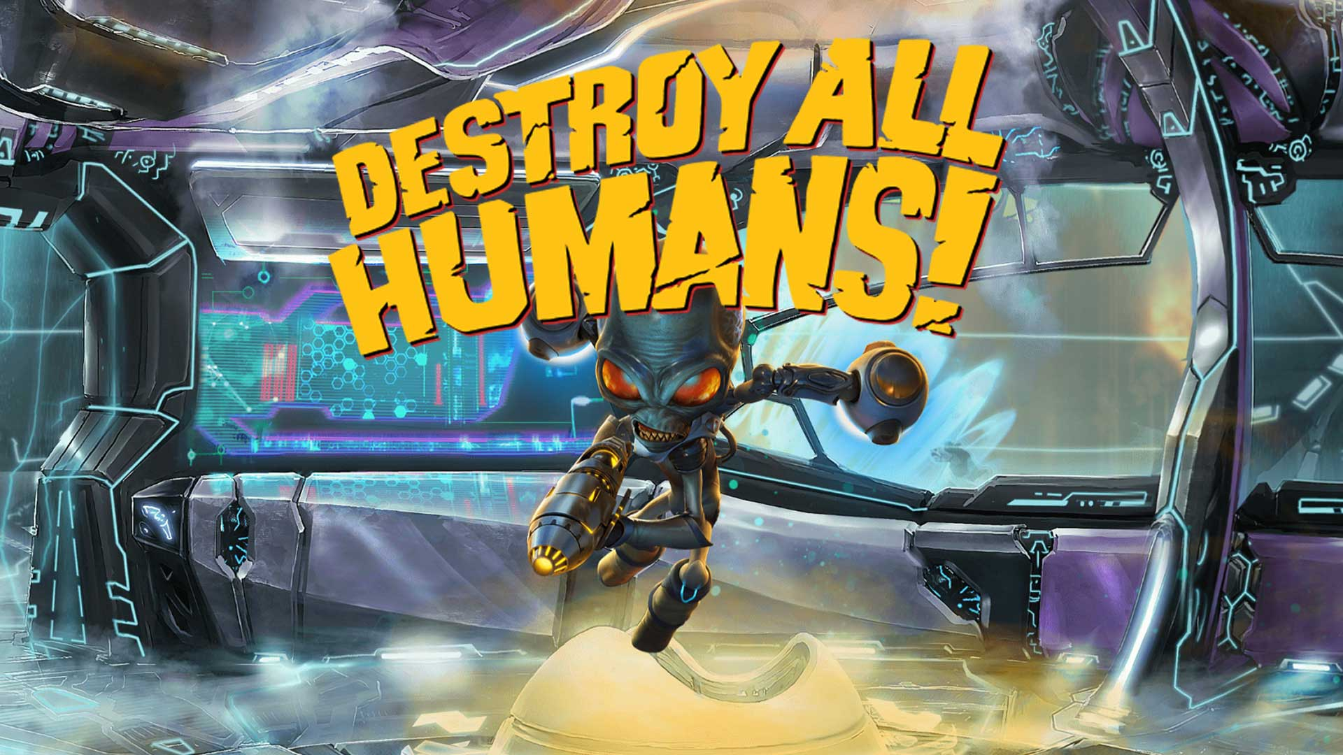 destroy all humans cover hd
