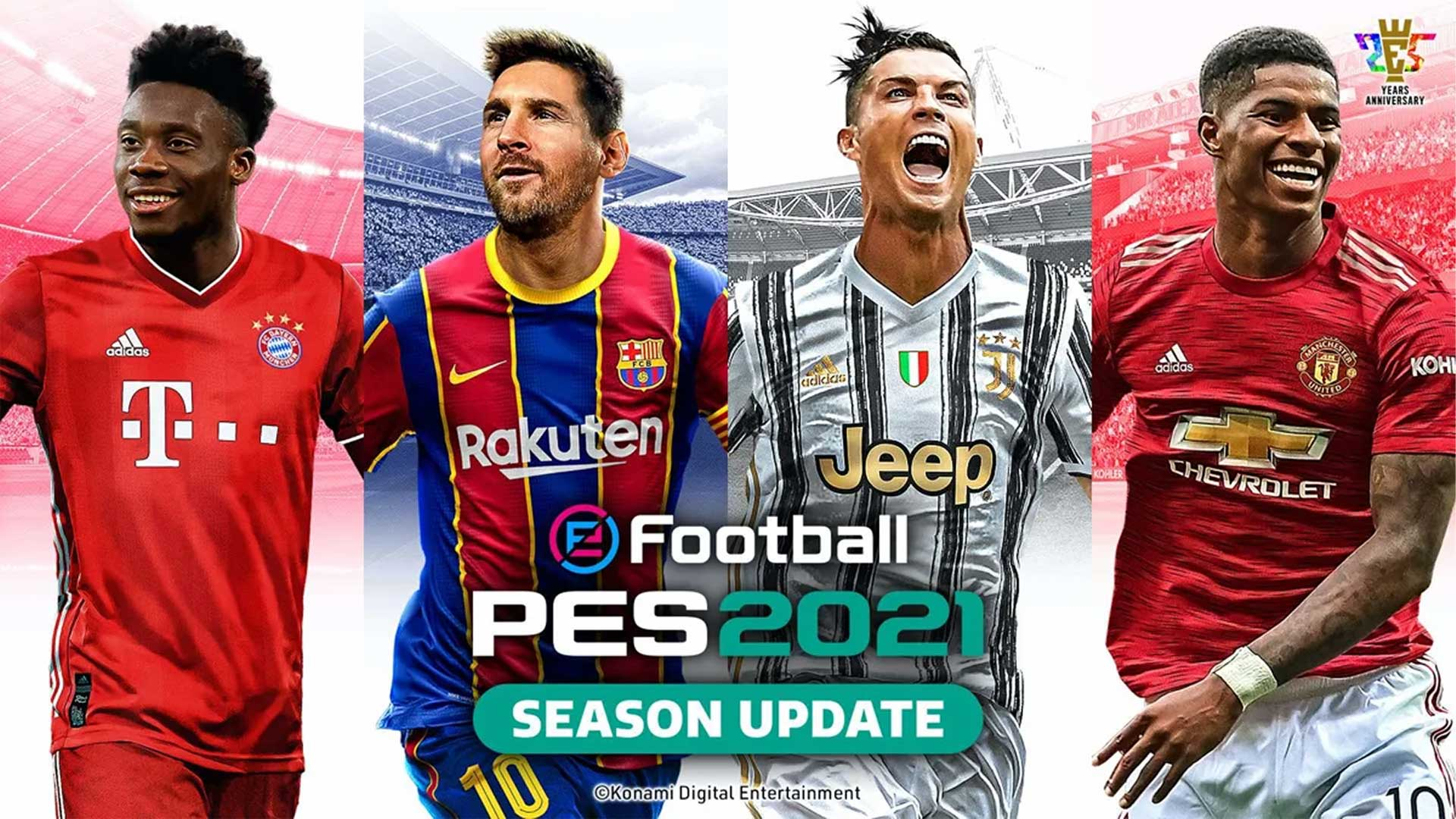 eFootball PES 2021 SEASON UPDATE cover