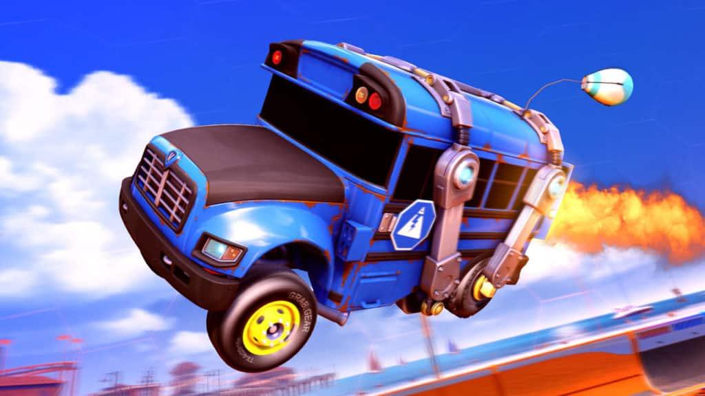 Battle Bus, Battle Balloon Antenna, Battle Bus Wheels. Quelle: Psyonix