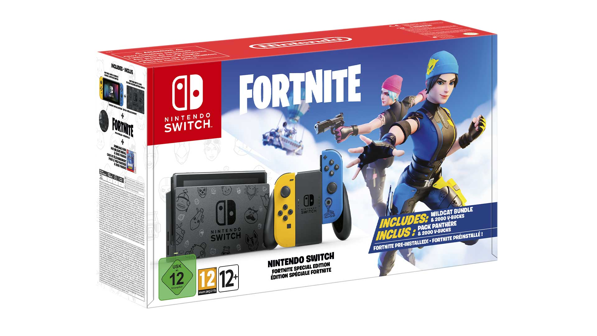 Nintendo Switch Fortnite Special Edition 2020