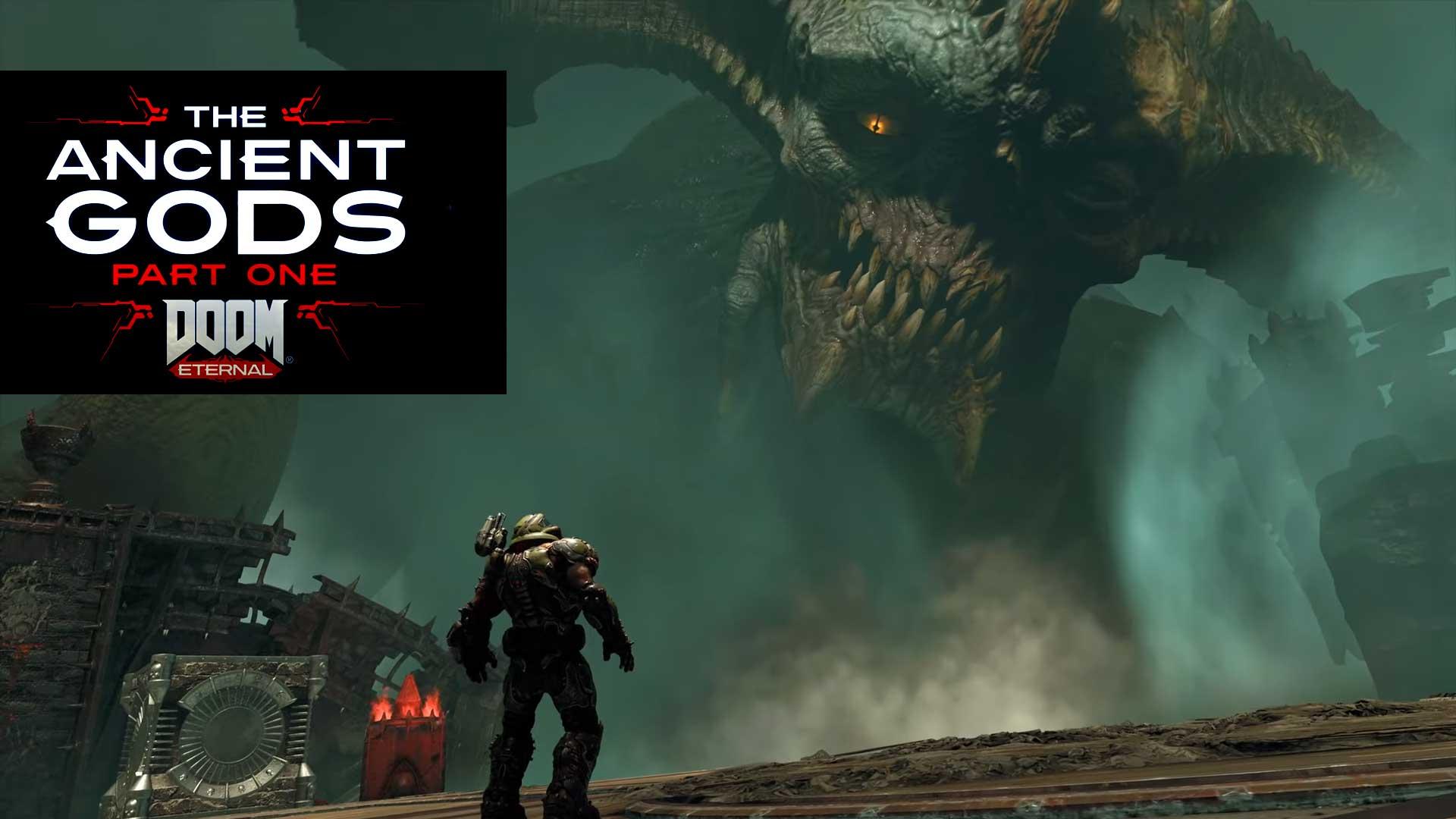 doom eternal the ancient gods release