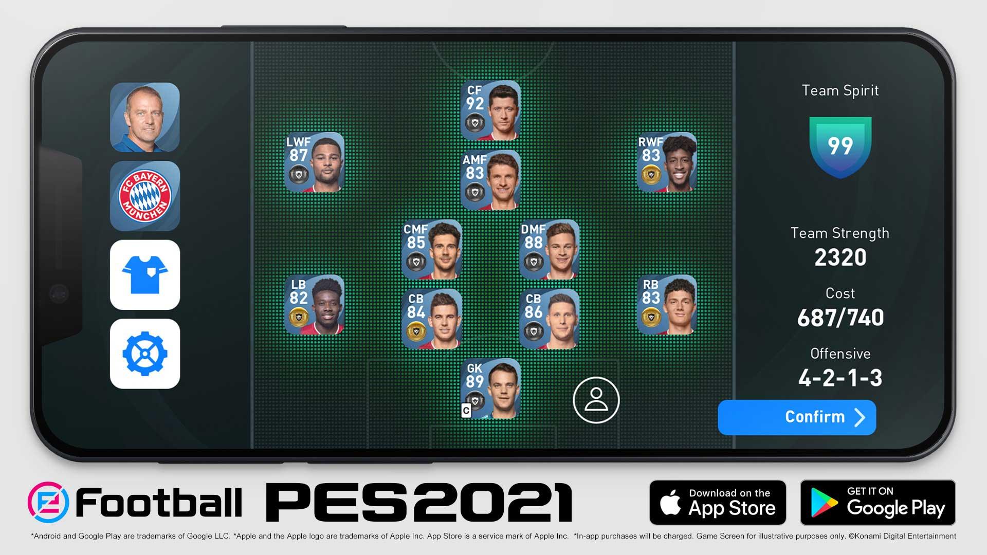 eFootball PES2021 StoreAsset 07 Phone babt