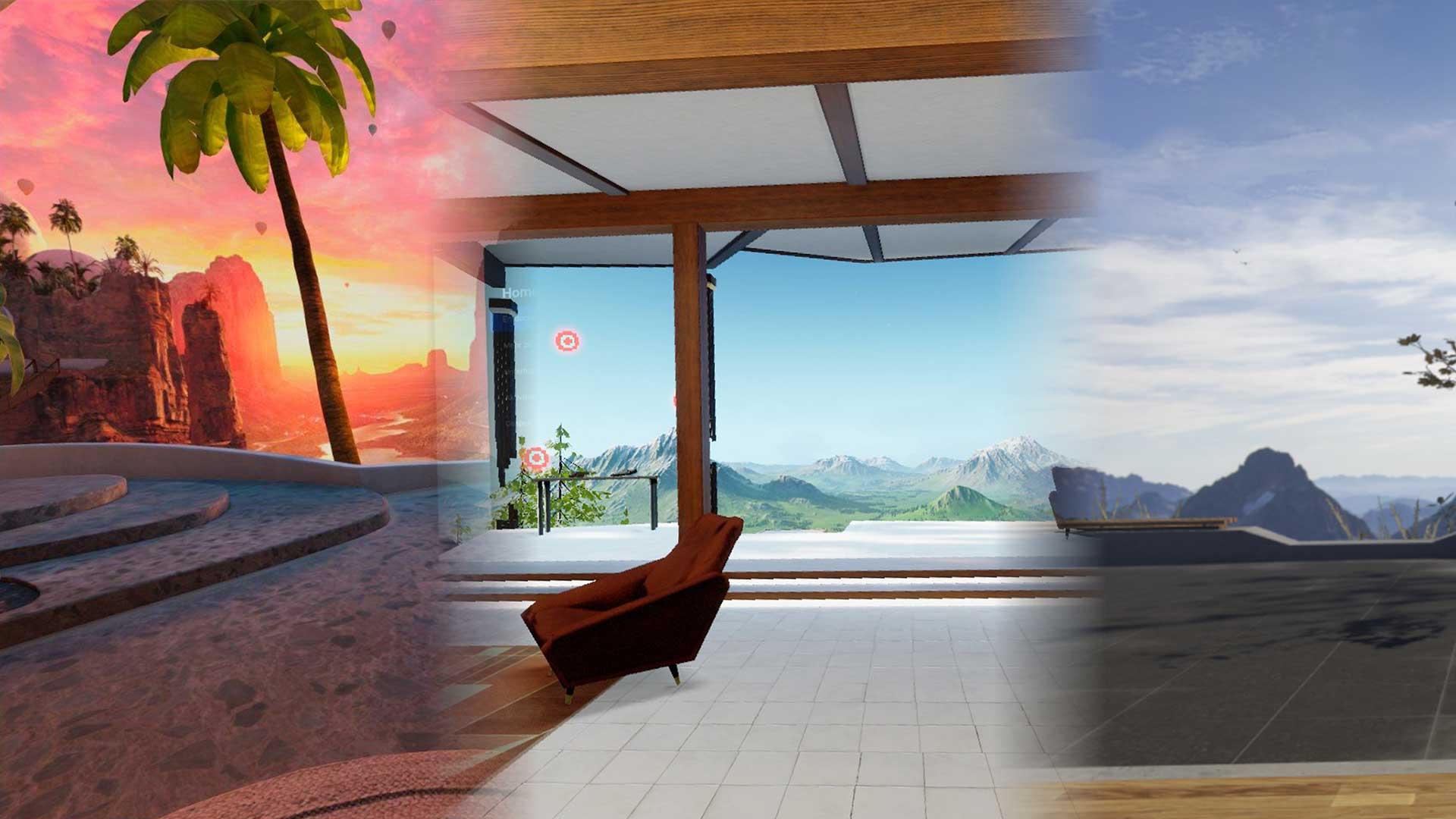 oculus quest 2 vr environments
