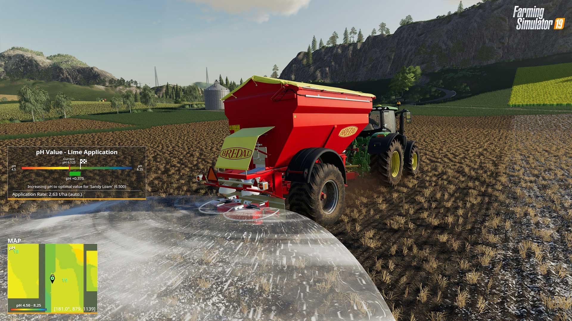 Precision Farming DLC Lime babt