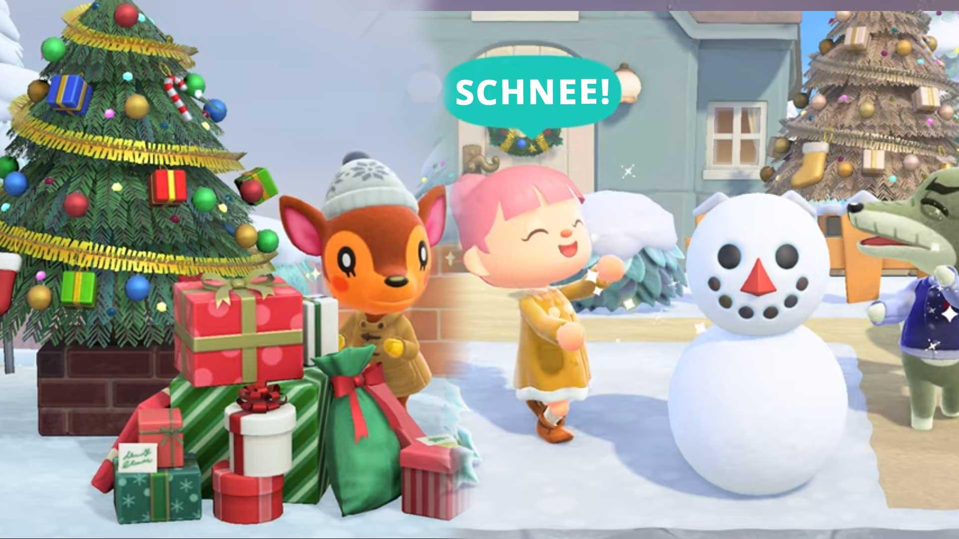 acnh winter update