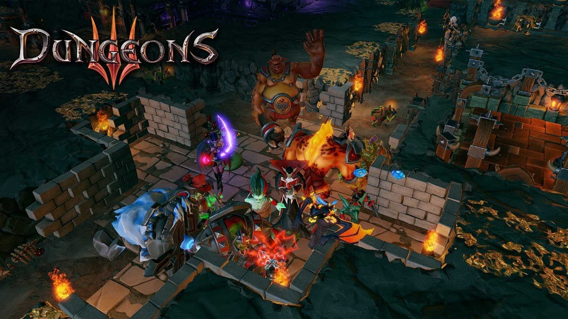 epic games store dungeons 3 new