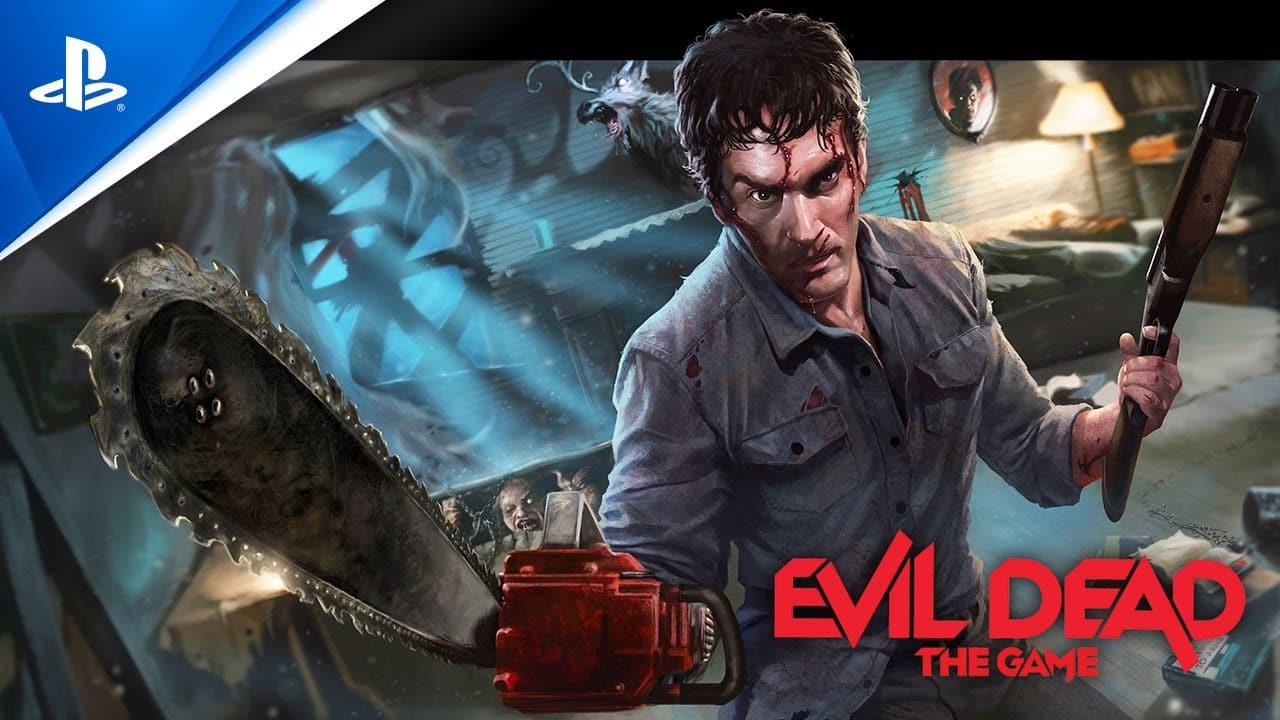 Evil Dead The Game The Game Awards 2020 Reveal Trailer PS5 PS4