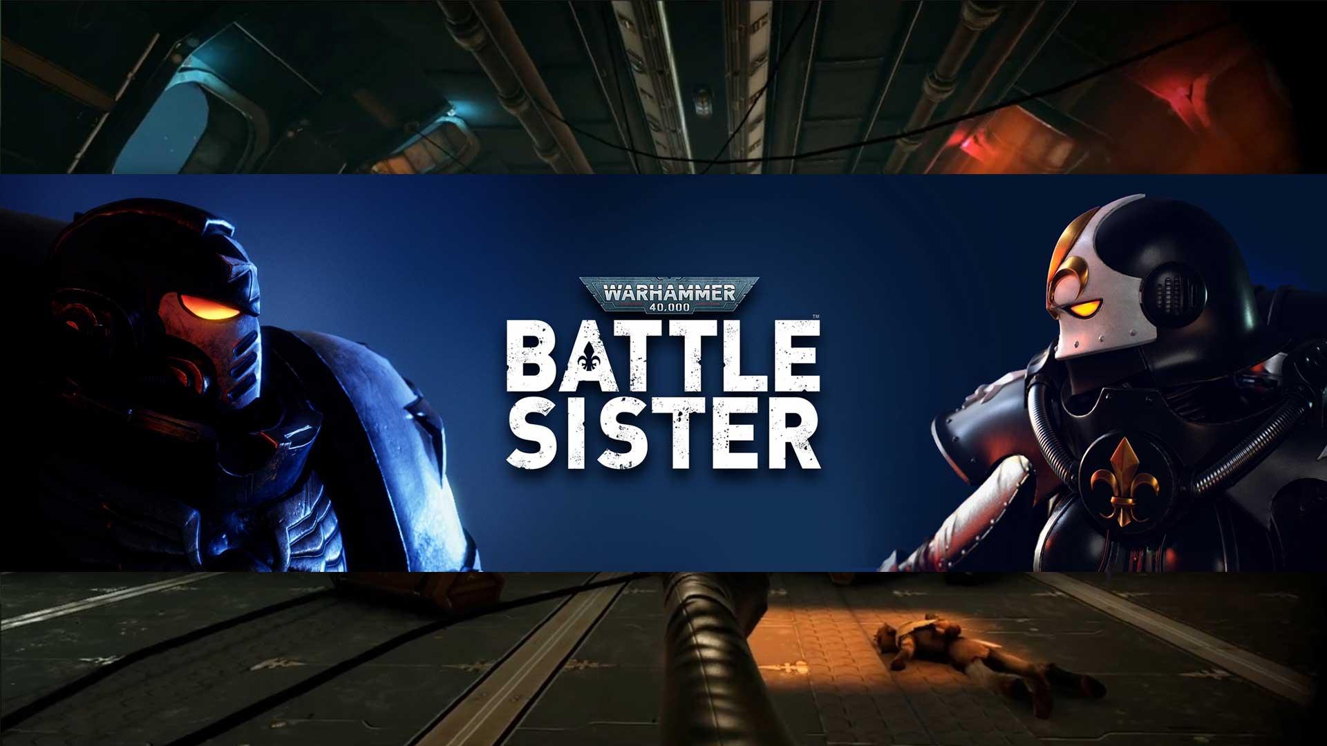 warhammer 40k battle sister cover