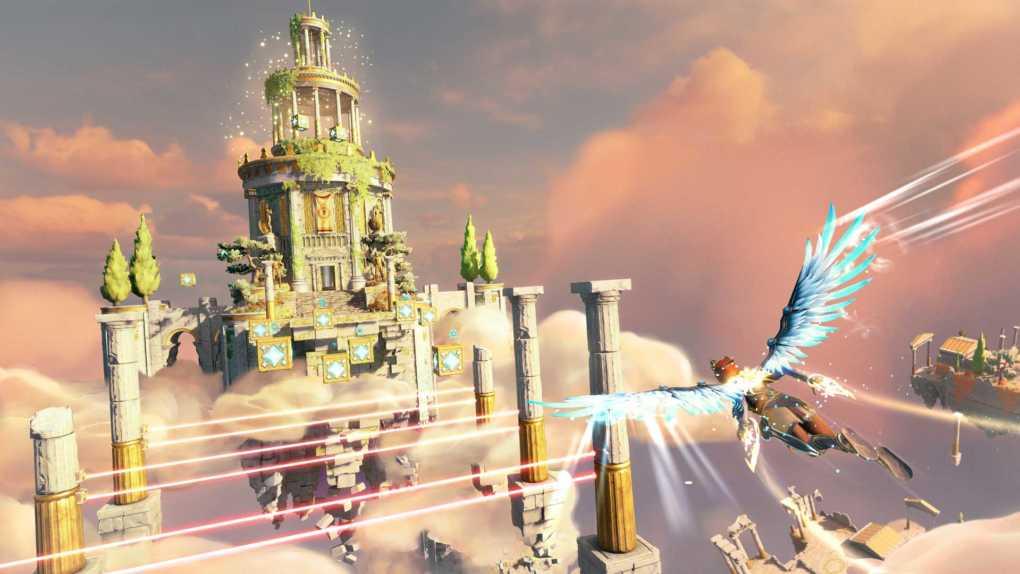 DLC1 NewGod Gameplay Gliding babt