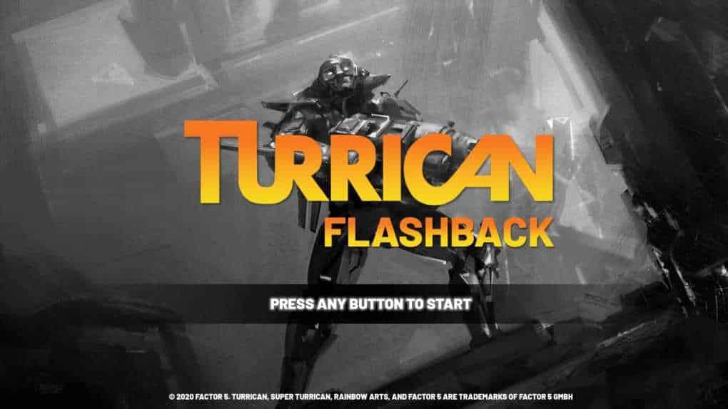 Turrican Flashback cover