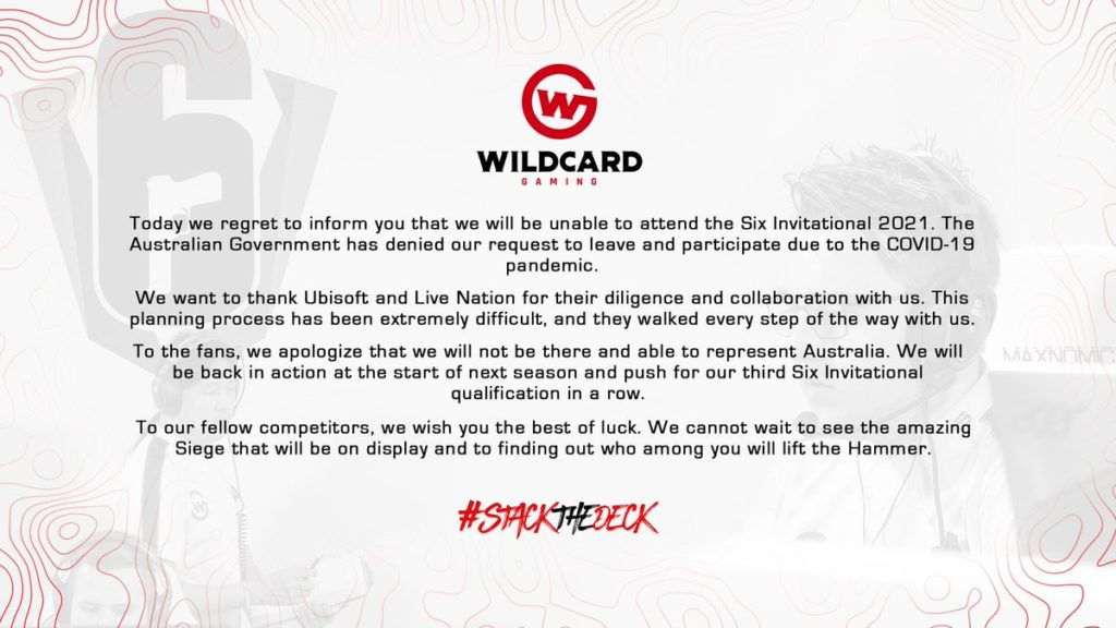 Quelle: Wildcard Gaming (Twitter @Wildcard_GG)
