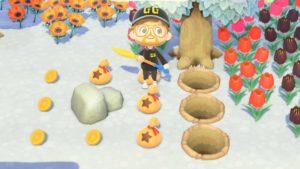 3 Löcher: So muss es sein, dann bekommt ihr auch alle Sternis am Felsen.