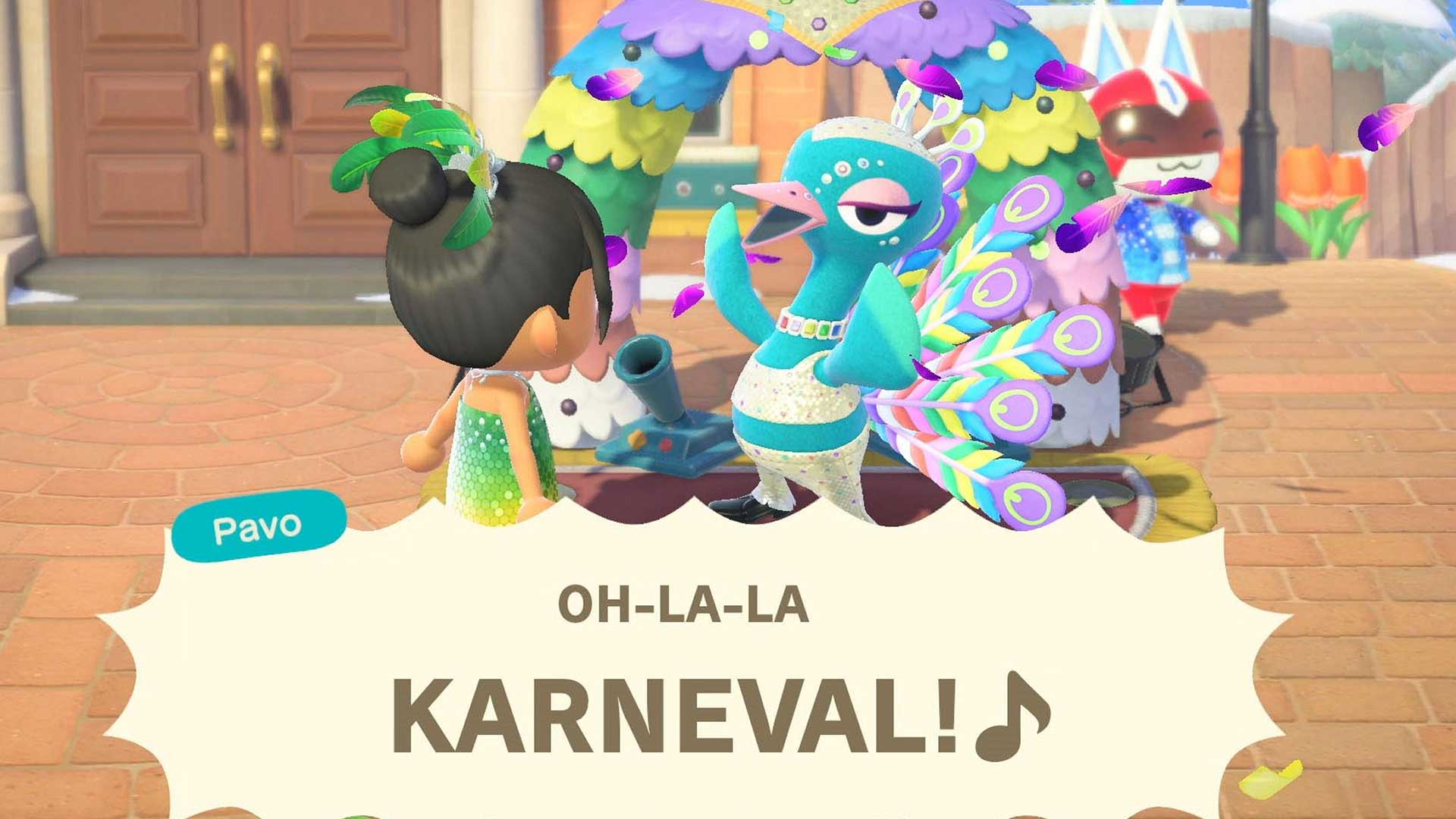 animal crossing karneval 2021