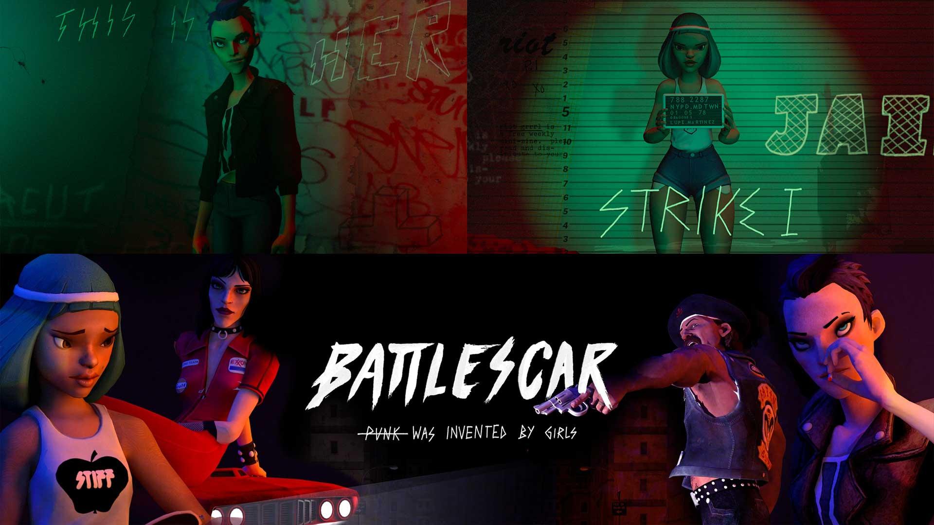 battlescar vr cover