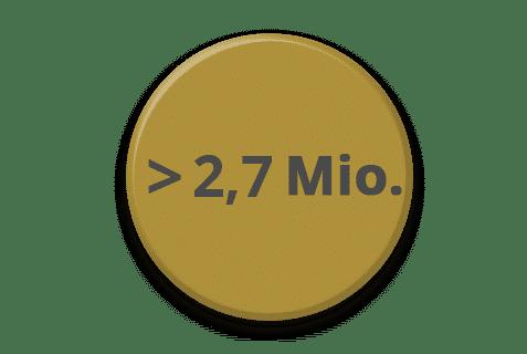 mediadaten graph 2 7 mio unique user