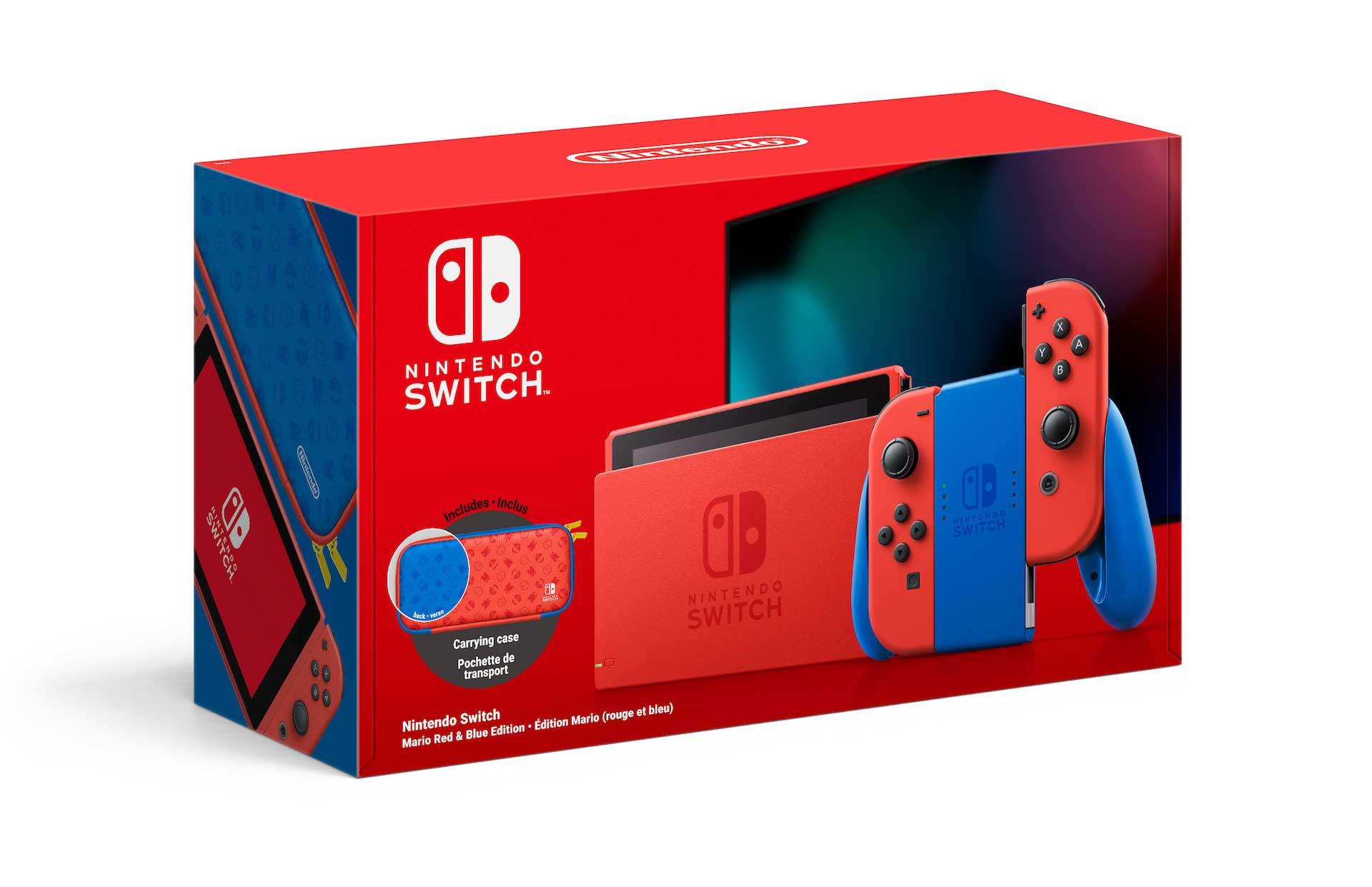 nintendo switch design 2020 red blue