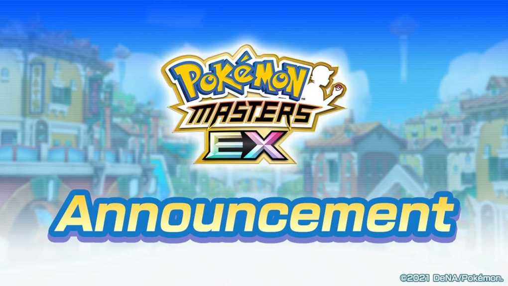 pokemon masters announcement