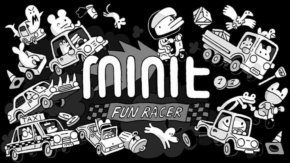 Minit Fun Racer Key Art