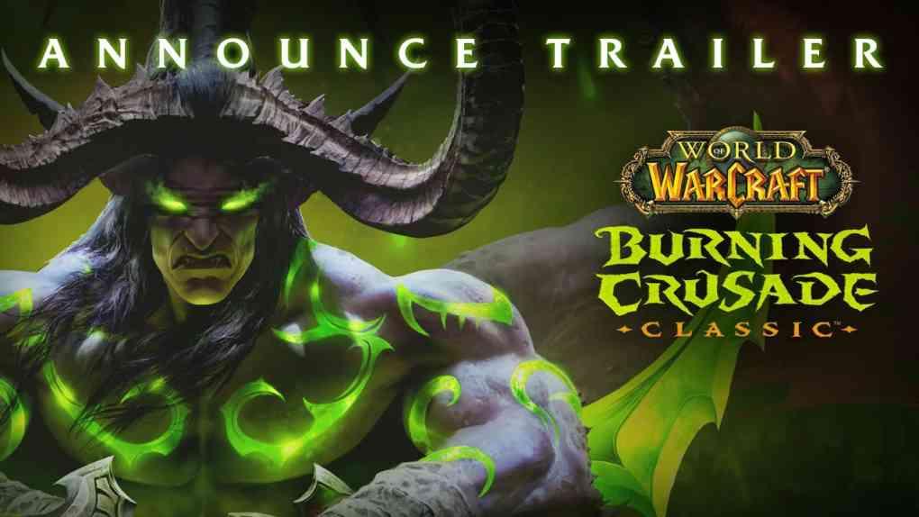 WoW Classic Burning Crusade Announce Trailer
