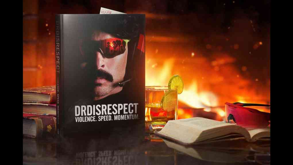dr disrespect buch cover