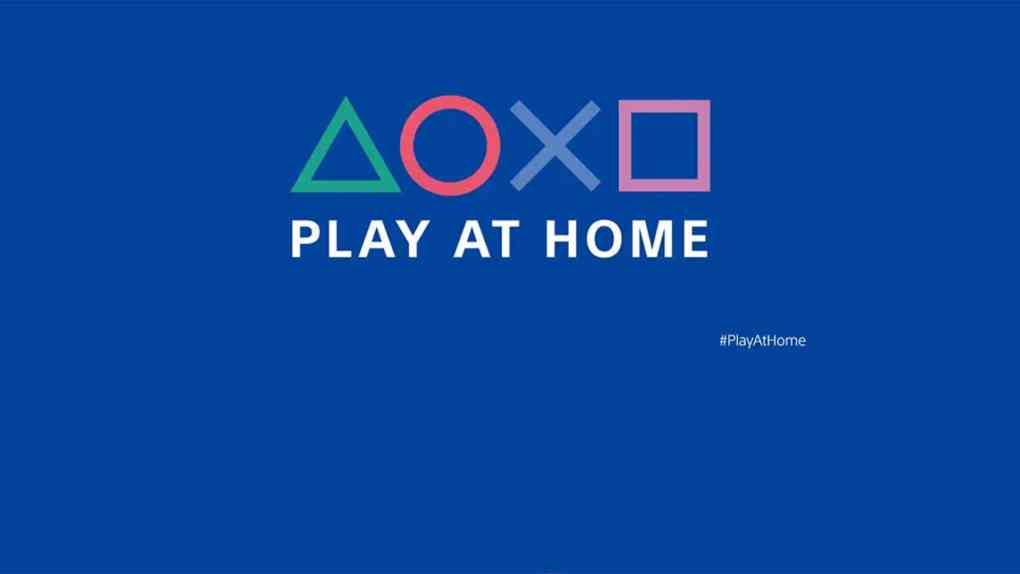 sony playstation play at home 2021