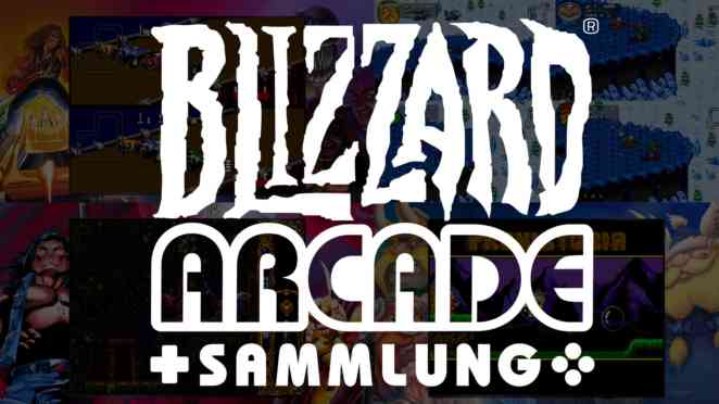 Blizzard Arcade Collection header symbol