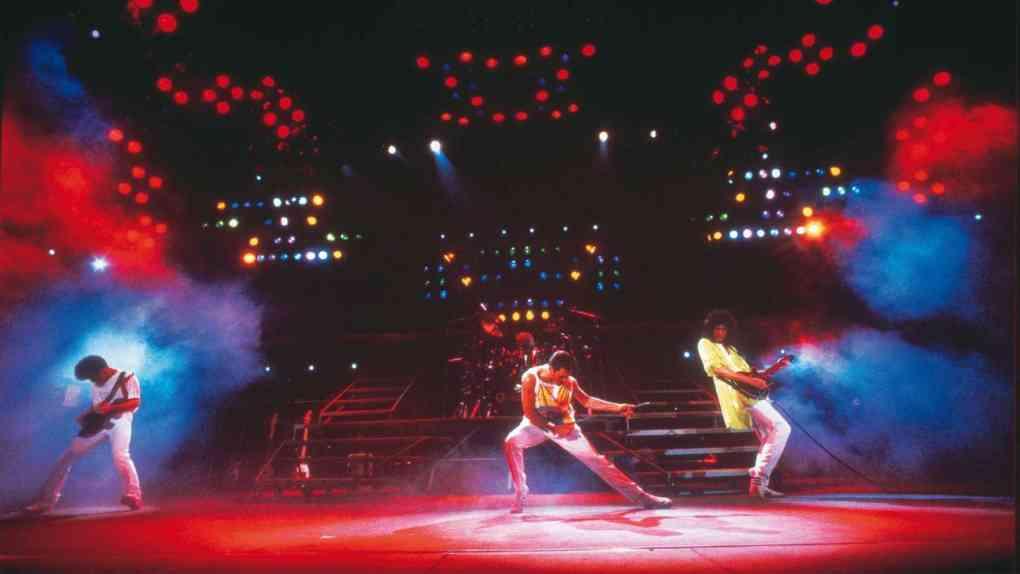 Queen Magic Tour 1986. Quelle: Denis ORegan © Queen Productions Ltd