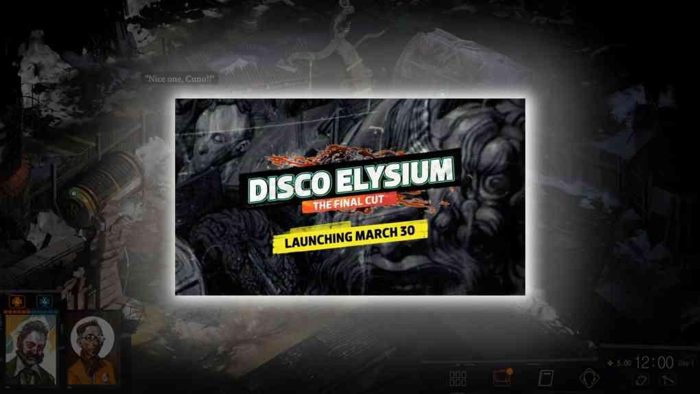 disco elysium the final cut launch termin