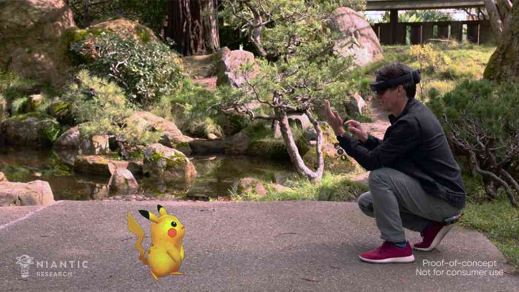 pokemon go microsoft demo