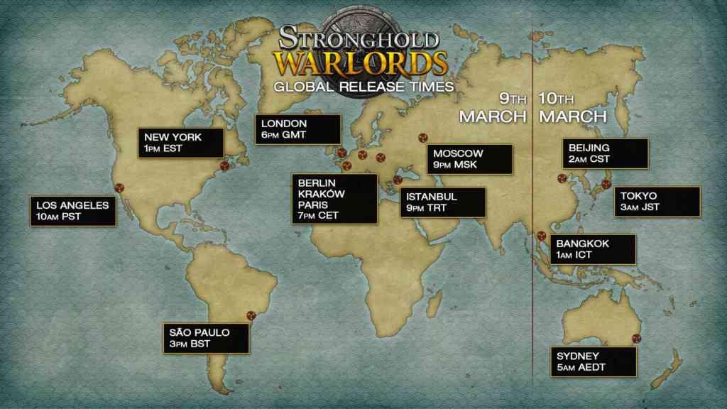 stronghold crusader release zeitplan