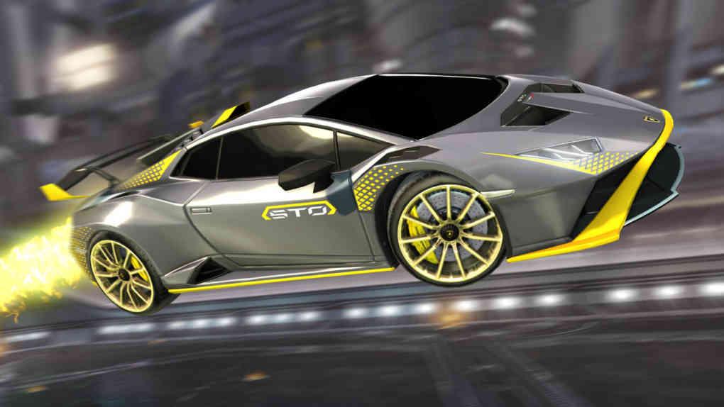 Lamborghini x Rocket League
